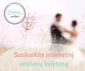 Internetiniai vestuvių kvietimai - nustebinkite svečius