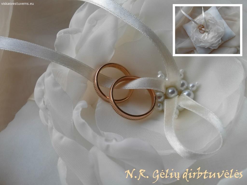 Pagalvėlės žiedams