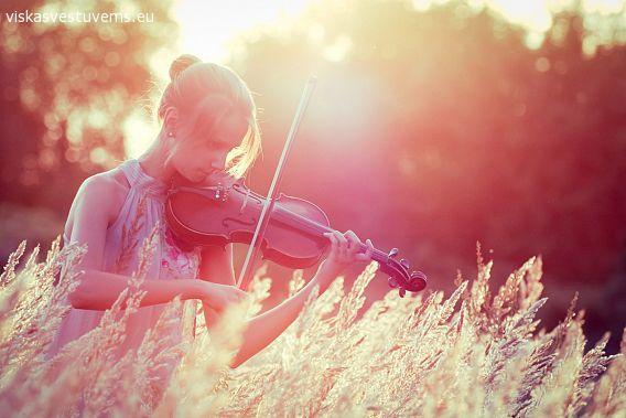 Smuiko muzika vestuvių ceremonijai