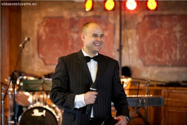 Vestuvių vedėjas Evaldas Leskauskas